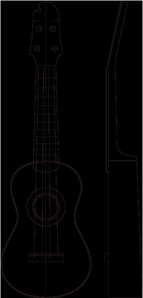outline-Ukulele